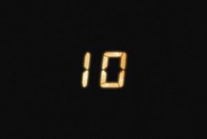 素材No.19「24 -TWENTY FOUR-」風カウントダウン