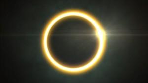素材No.46「金環日食」CG映像素材