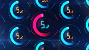 素材No.50「デジタルサイバーカウントダウン」digital cyber count down