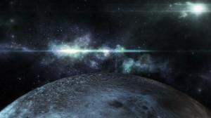 素材No.51「月・宇宙」Moon Galaxy CG