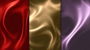 素材No.55[Fabric Silk Texture Red/Gold/Purple]