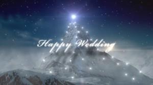 No.63「Happy Wedding」Snow Mountain
